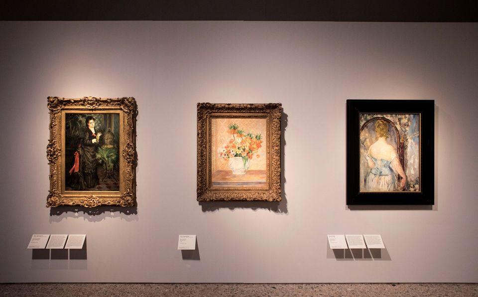 Sala della mostra Guggenheim. La Collezione Thannhauser a Milano, Palazzo Reale